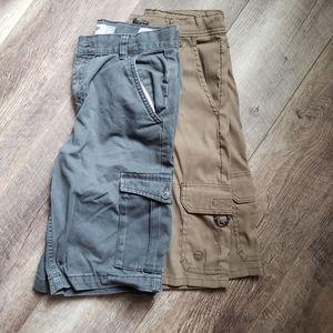 Lot of boys size 14 reg shorts, old navy wrangler